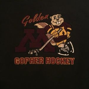 Tops - Black Gopher Hockey Crewneck size L